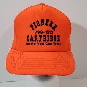 Hunters Trucker Hunter Orange Snapback Hat